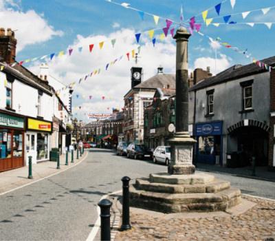 The market town of Garstang